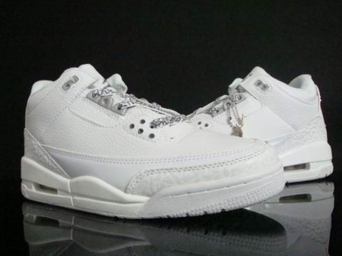 Jordan 3 Retro All White Shoes