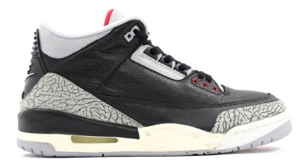 Jordan 3 Retro Black Cement Grey Countdown Pack Shoes