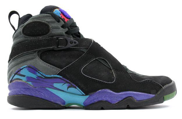 air jordan 8 aquas black bright concord aqua tone shoes